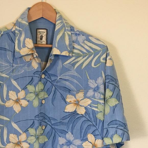 4f42b2852 Jamaica Jaxx Shirts | Jamaica Jazz Men Hawaiian Button Down Shirt L ...